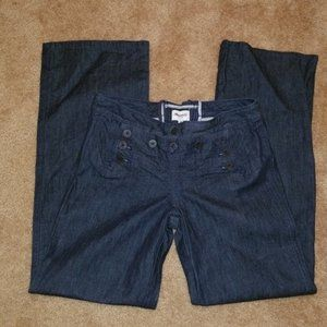 Madewell Sailor Button Front Jeans - Size 28